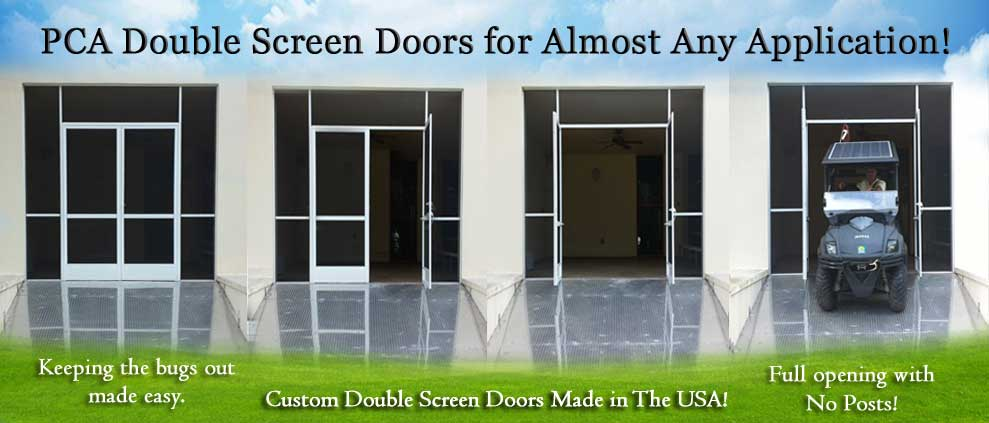 French Screen Doors Aurora MO Double Screen Doors
